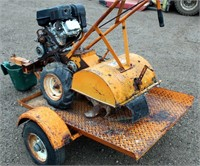 Old Rear Tine Rototiller, view 2