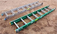 (2) 16' Extension Ladders