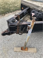 1983 Flatbed Utility Trailer w/ Wood Top, Title