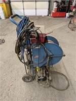Mustang air hose with better air compressor