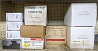 Various items lot including thermostats and