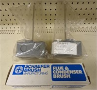 Flue & condenser brush with 2 ct sensor lot