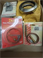 Various items lot including thermopile and more