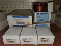 Various items lot including thermostat low temp