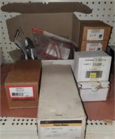 Various items lot including solenoid air valve