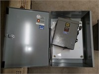 Breaker box with gerwal duty switch and metal