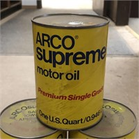 Arco Supreme Motor Oil, Bidder Bidding on
