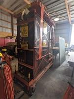 600lb capacity crane lift.