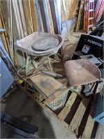 "Pottery wheel measuring 40 x 28"""