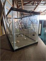"Fish tank measuring 20 x 12 x 10"""