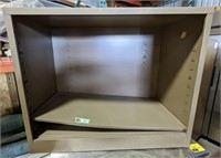 Metal cabinet shelf measuring 36 x 29 x 18""