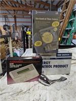 Various items lot including moen sink handles,