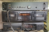 Various sound systems incl. Pioneer CD player,