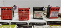 Lot of various GE Remote Control Relays w/ Pilot