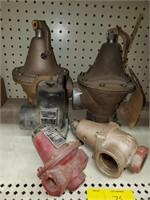 Various relief valve lot