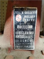 Bell & Gossett model 3300 relief valve lot