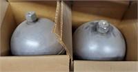 "6"" metal float ball lot bidding per item"