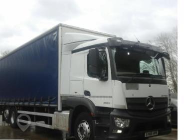 2016 MERCEDES-BENZ ACTROS 2533 at TruckLocator.ie
