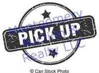 pick up is Sunday, March 21, 2 - 4 PM