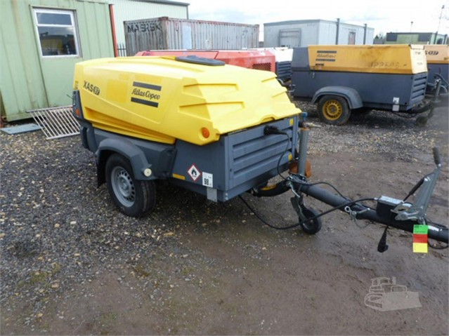 2016 ATLAS COPCO XAS97DD at www.used-compressors.co.uk
