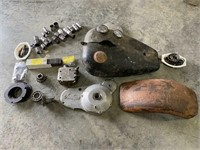 Vintage Motorcycles, 34 Ford, Corvettes, Tractor, Pers Prop.