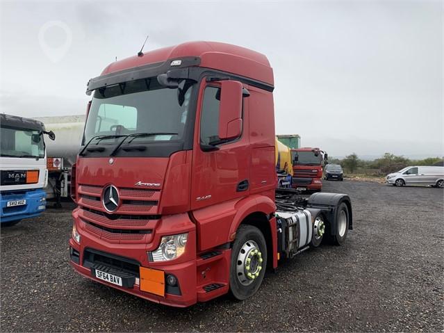 2014 MERCEDES-BENZ ACTROS 2443 at TruckLocator.ie