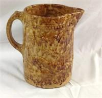 Vintage Bennington pottery peacock