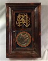 Antique Gilbert eight day clock needs work