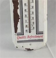 17 inch metal Coca-Cola thermometer