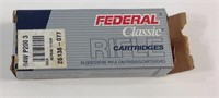 Federal classic 20 rounds 30 carbine ammunition