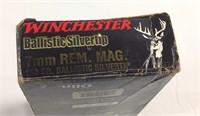 Winchester ballistic silvertip 7MM REM Mag