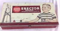 Vintage Gilbert erector set metal case