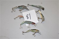 Estate Liquidation #1 Vintage Fishing Lures, Rods and more