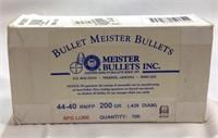 Unopened box 44–40 200 gr bullets for reload