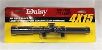 Daisy 4 x 15 air rifle scope