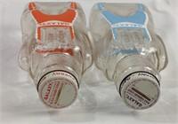 Vintage galaxy syrup bottles