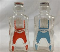 Vintage galaxy syrup bottles