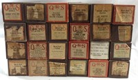 24 QRS antique piano rolls