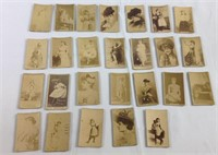 26 rare duke cigarettes tobacco cards 1800s