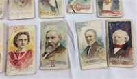 10 Rare Duke Cigarette tobacco Card Booklets