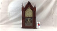 Antique Chauncey Jerome 8 day octagon clock