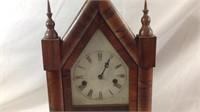 Antique 20 x 10 x 4 steeple clock