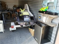 Range Rover, Storage Contents, Wide Format Printer- Moving