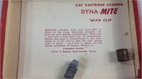 Rare vintage Nichols dyna-mite 38 Cap Gun