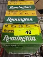 "REMINGTON 12GA 2 3/4"" 7 1/2 SHOT 75 RDS"