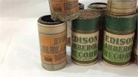 15 antique Edison Ambersol Records