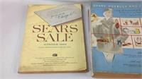 1957, 60, 72 original Sears and Roebuck catalog's