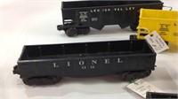 6 vintage Lionell .027 gauge 1945 - 1964 Cars