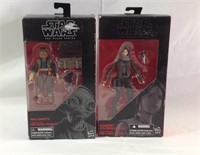 2 Star Wars black series action figures