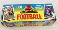1991 Bowman football card set